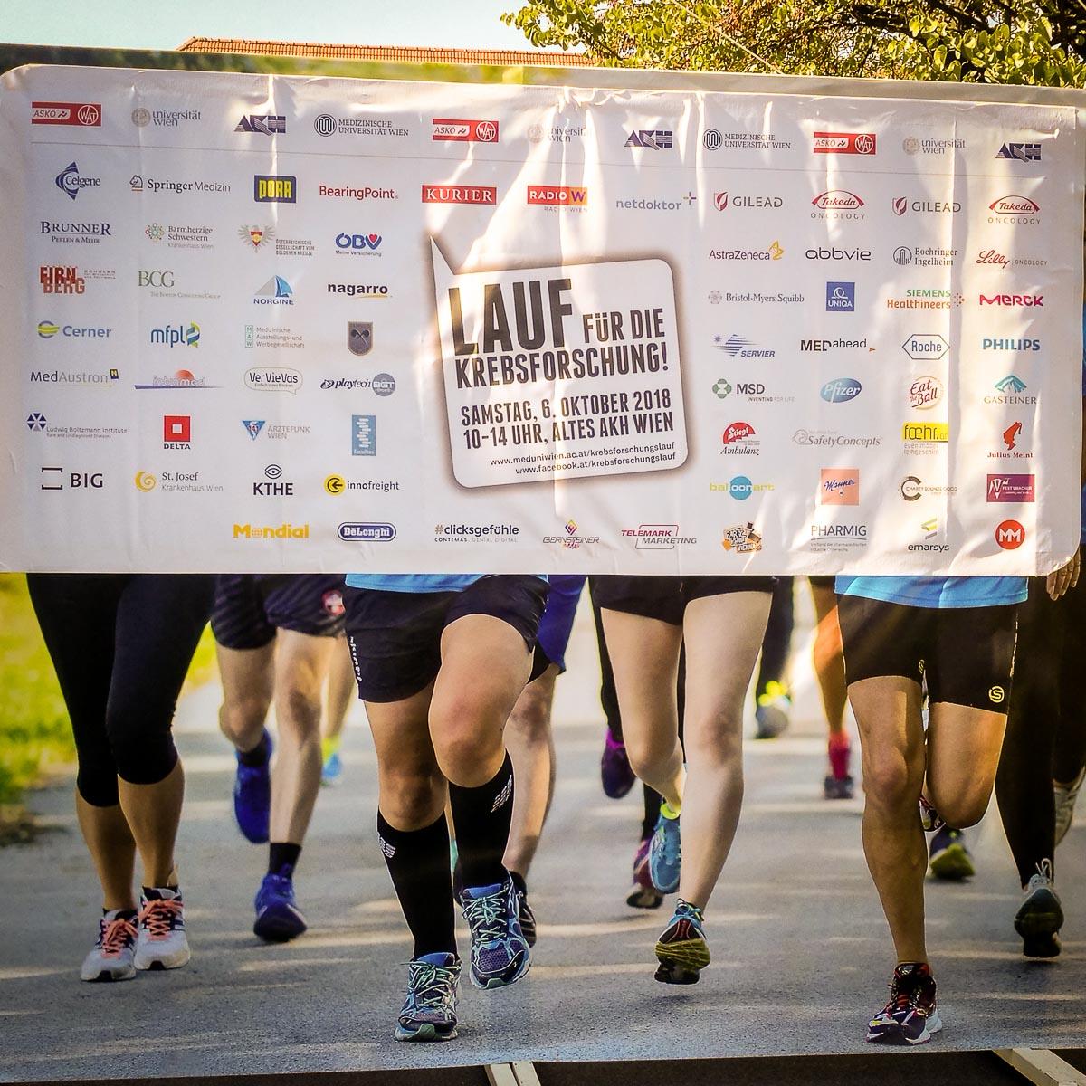 Laufen für die Krebsforschung