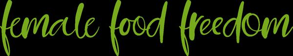 Logo Female Food Freedom - Katharina Kühtreiber, Diätologin