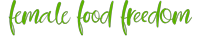 Female Food Freedom Logo